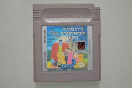 Gameboy The Addams Family Pugsley's Scavenger Hunt