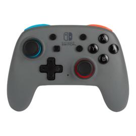 Nintendo Switch Wireless Controller Nano Enhanced Grey/Neon - PowerA [Nieuw]