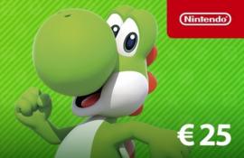Nintendo tegoed 25 EURO NL