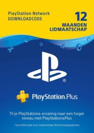 Playstation Network - PlayStation Plus Abonnement 365 Dagen - PS4 + PS3 + PS Vita + PSN [NL]