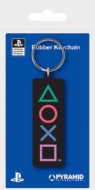 Playstation Sleutelhanger Playstation Shapes - Pyramid International [Nieuw]