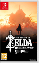 Switch The Legend of Zelda Breath of the Wild The Sequel [Pre-Order]