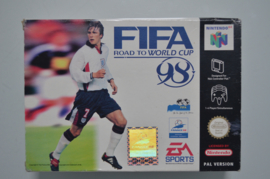 N64 Fifa 98 Road to World cup [Compleet]
