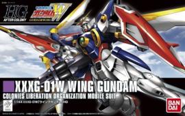 Gundam Model Kit HG 1/144 XXXG-01W Wing Gundam Colonies Liberation Organization Mobile Suit - Bandai [Nieuw]