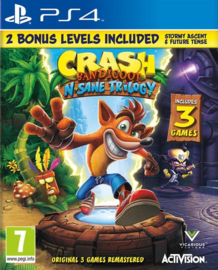 Ps4 Crash Bandicoot N.Sane Trilogy + 2 Bonus Levels [Nieuw]