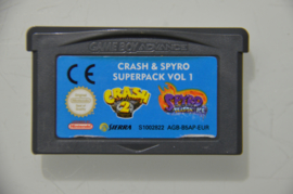 GBA Crash & Spyro Superpack Vol 1 Crash Bandicoot 2 + Spyro Season of Ice