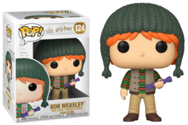 Harry Potter Funko Pop - Holiday Ron Weasley #124 [Pre-Order]