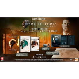 Ps4 The Dark Pictures Anthology Volume 1 Limited Edition (Man of Medan + Little Hope) [Pre-Order]