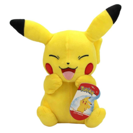 Pokemon Pluche Pikachu Happy - Wicked Cool Toys