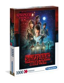 Stranger Things Puzzle Seizoen 1 (1000 stukjes) - Clementoni [Nieuw]