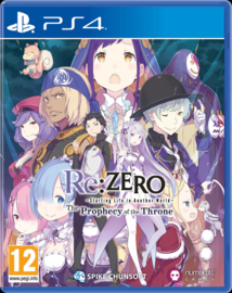 PS4 Re ZERO Starting Life in Another World: The Prophecy of the Throne [Pre-Order]