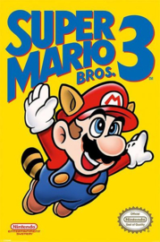Nintendo Poster Super Mario Bros 3 (61x91cm) - Pyramid International