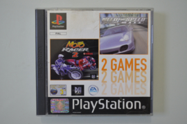 Ps1 Need For Speed Porsche en Moto Racer 2 (Playstation 1 Double Pack)
