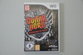 Wii Guitar Hero Warriors of Rock