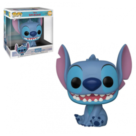 """Disney Lilo & Stitch Funko Pop Jumbo Stitch 10"""" Super Sized #1046 [Nieuw]"""