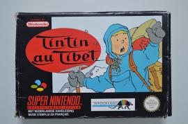 SNES Tintin au Tibet / Kuifje in Tibet [Compleet]