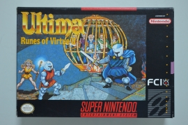 SNES Ultima Runes of Virtue II [Amerikaanse Import] [Compleet]
