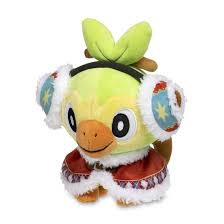 Pokemon Pluche Grookey Holiday Winter Carnival Poke Plush  - Pokemon Center [Nieuw]
