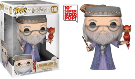 "Harry Potter Funko Pop - Dumbledore with Fawkes 10"" #110 [Nieuw]"