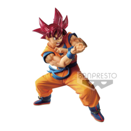 Dragonball Figure SSGS Goku SP4 Dragon Ball Super Blood of Saiyans Special VI - Banpresto [Nieuw]