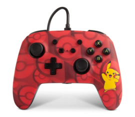 Nintendo Switch Wired Controller Pikachu - PowerA [Nieuw]