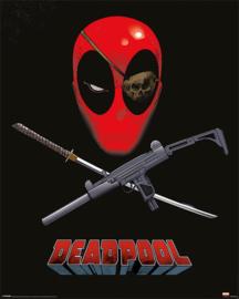Deadpool Poster Eye Patch (40x50cm) - Pyramid International [Nieuw]