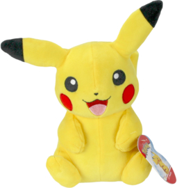 Pokemon Pluche Pikachu Sitting - Wicked Cool Toys [Nieuw]