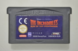 GBA Disney Pixar The Incredibles Rise of the Underminer