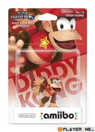 Amiibo Diddy Kong - Super Smash Bros [Nieuw]
