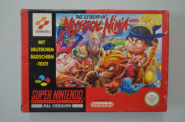 SNES The Legend of The Mystical Ninja [Compleet]