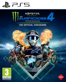 PS5 Monster Energy Supercross 4 [Pre-Order]