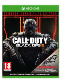 Xbox One box Call of Duty Black Ops 3 Zombies Chronicles Edition [Nieuw]