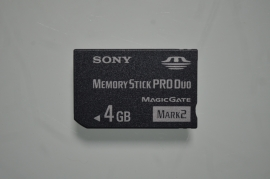 PSP Memory Card PRO Duo 4 GB - Sony