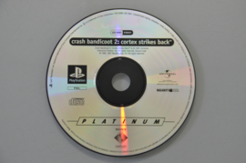 Ps1 Crash Bandicoot 2 Cortex Strikes Back [Losse CD]