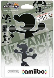 Amiibo Mr Game & Watch - Super Smash Bros [Nieuw]