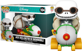 Disney The Nightmare Before Christmas Funko Pop Ride Super Deluxe Jack With Goggles and Snowmobile #104 [Nieuw]
