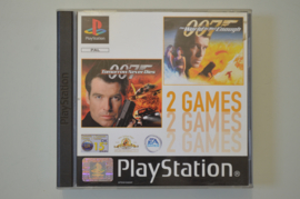 Ps1 007 James Bond Double Pack / The World is Not Enough & Tomorrow Never Dies