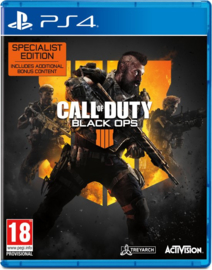 Ps4 Call of Duty Black Ops 4 Specialist Edition [Nieuw]
