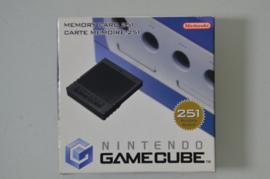 Gamecube Memory Card Origineel 251 Blocks [Compleet]