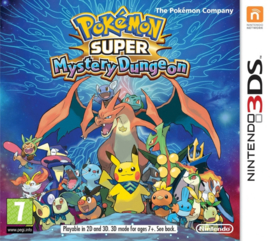 3DS Pokemon Super Mystery Dungeon [Nieuw]