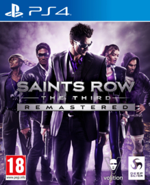 Ps4 Saints Row The Third Remastered [Nieuw]