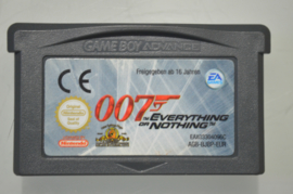 Gba James Bond 007 Everything or Nothing