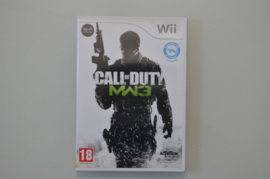 Wii Call of Duty Modern Warfare 3