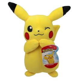 Pokemon Pluche Pikachu Winking - Wicked Cool Toys