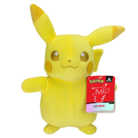 Pokemon Pluche Pikachu Monochrom - Wicked Cool Toys [Nieuw]