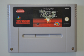 SNES Beware The Ultimate Evil of Warlock