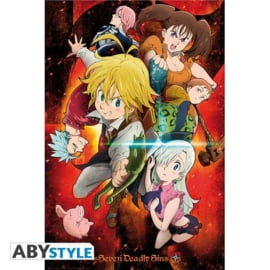 Seven Deadly Sins Poster (61x91cm) Characters - ABYStyle [Nieuw]