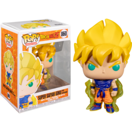 Dragonball Z Funko Pop - Super Saiyan Goku (First Appearance) #860 [Nieuw]