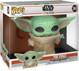 "Star Wars The Mandalorian Funko Pop Jumbo The Child (Baby Yoda) 10"" Super Sized #369 [Nieuw]"