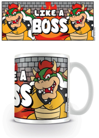 Nintendo Mok Bowser Like A Boss - Pyramid International
